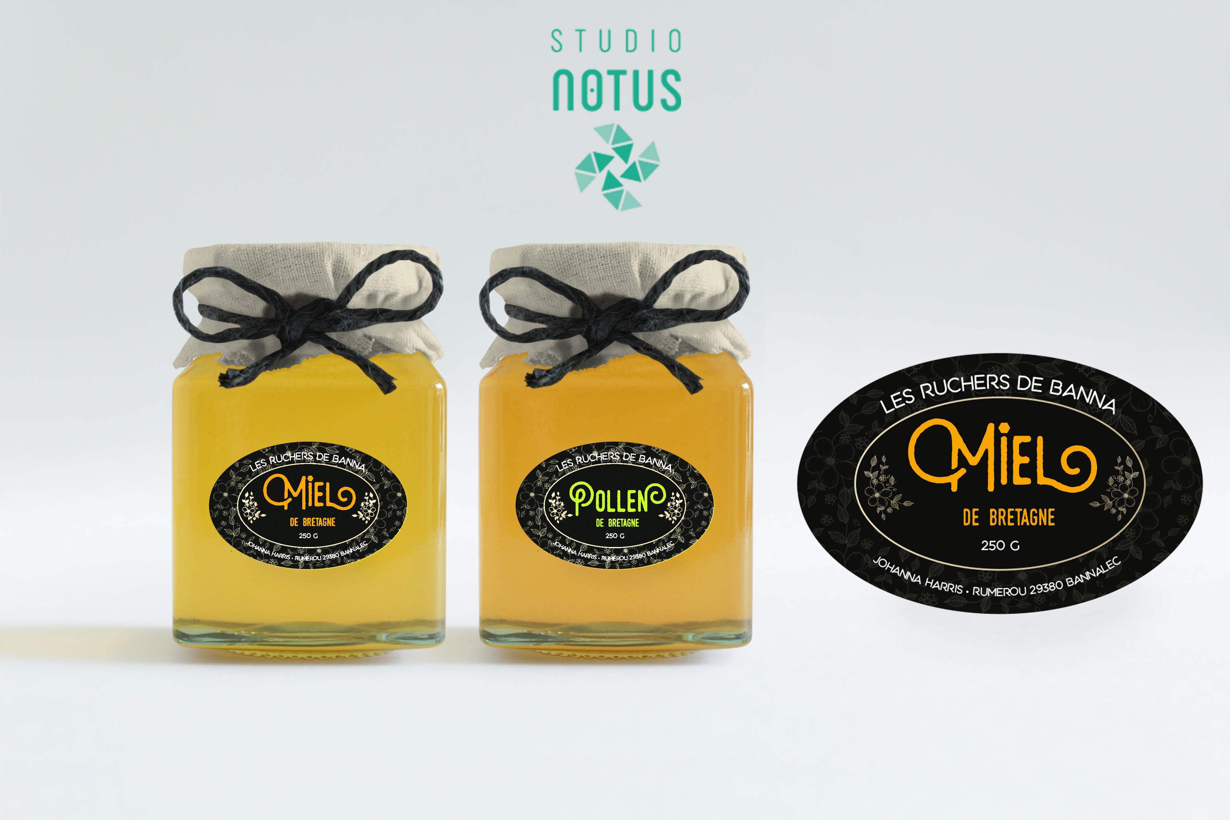 Étiquettes miel