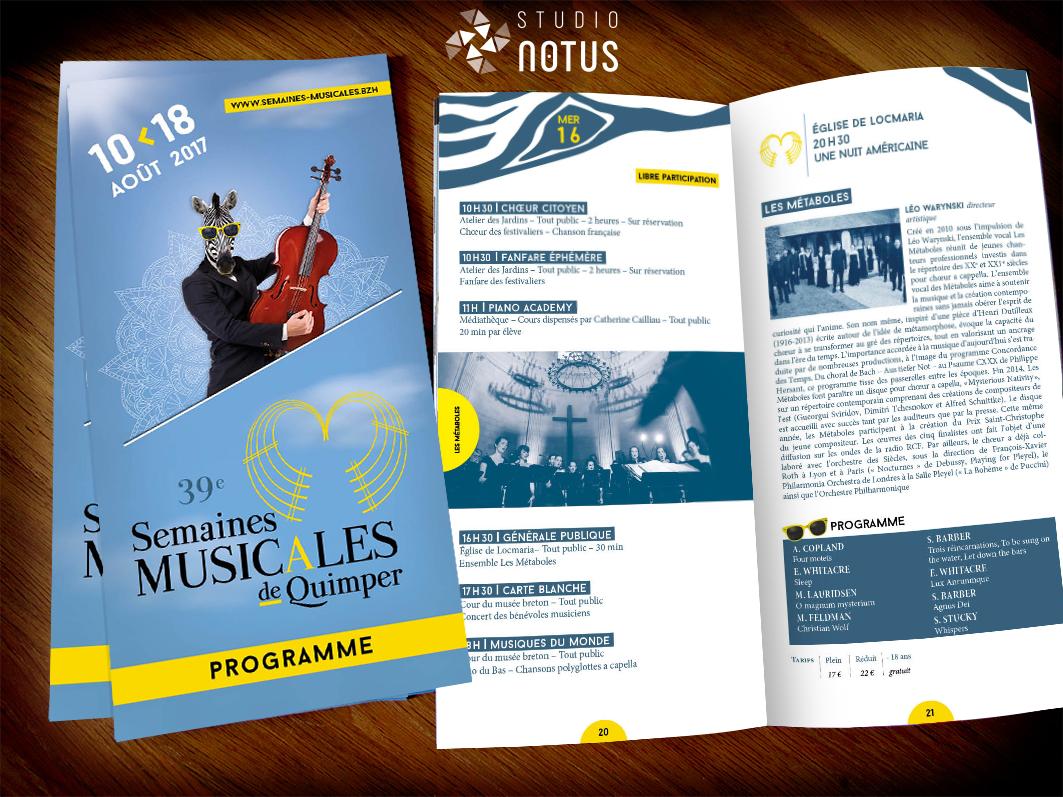 Semaines Musicales 2017